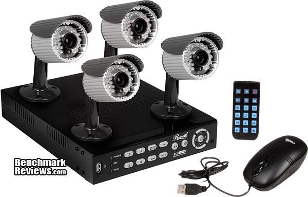 Rosewill RSVA-12001 DVR Kit Security Camera RCMR-14CMOSIR