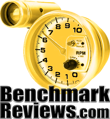 Benchmark Reviews Golden Tachometer Award Logo (Large: Print Ready)