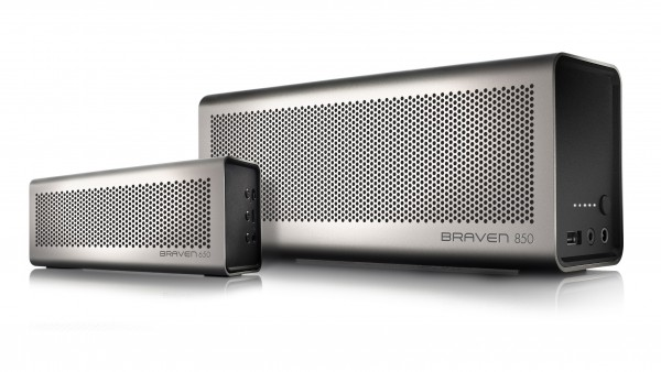 BRAVEN 850 Portable Bluetooth Speakers Available