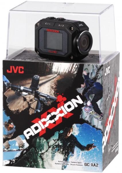 JVC Kenwood Corporation ADIXXION Wearable Action Camera Announced