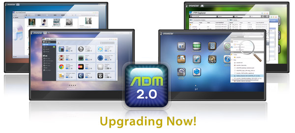 ASUSTOR NAS Upgraded with ADM 2.0 NAS Operating System