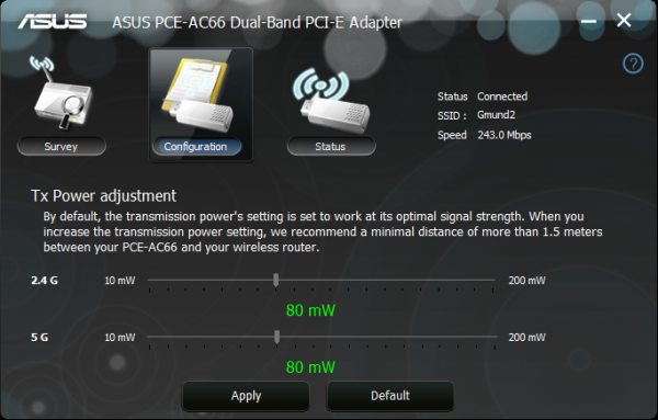 ASUS_RT-AC66U_802.11ac_Wireless_AC1750_Dual-Band_PCIe_Adapter_Trendnet_50_ASUS PCE_10ft_LOS_Config_01