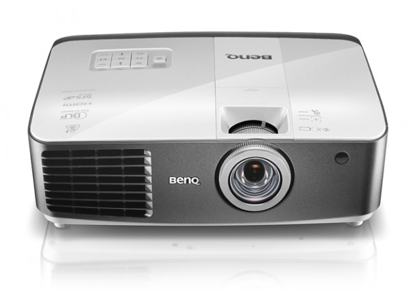 BenQ W1500 Wireless Projector With Built-in 5-GHz WHDI Technology Introduced