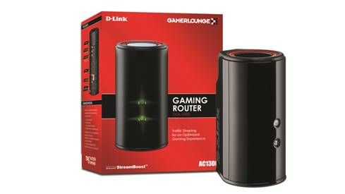 D-Link DGL-5500 Gaming Router Launched