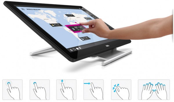 Dell Touch Monitors Unveiled