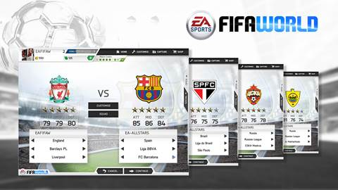 EA SPORTS FIFA World, Free Downloadable Soccer Game for PC Announced