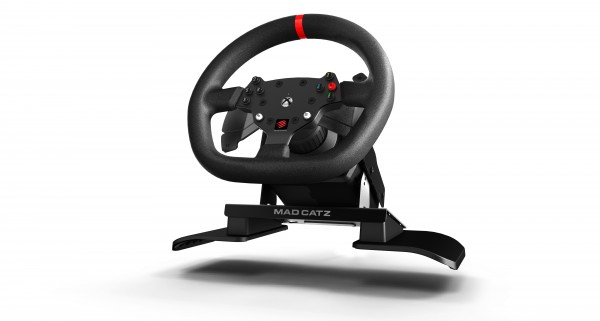Mad Catz Force Feedback Racing Wheel for Xbox One Announced