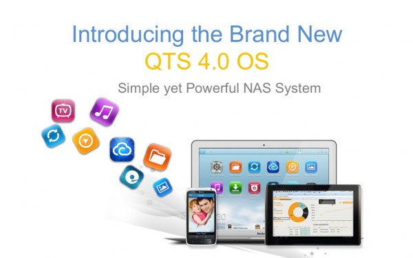 QNAP QTS SMB 4.0 Turbo NAS Operating System Released