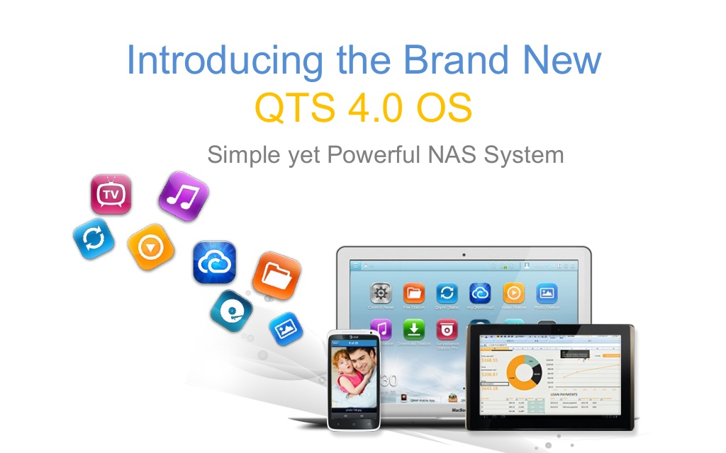 QNAP QTS SMB 4 0 Turbo NAS Operating System Released
