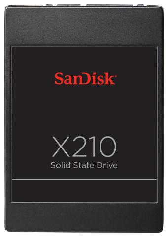 SanDisk X210 SSD Announced