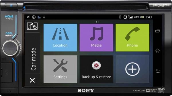 Sony XAV-602BT Smartphone Connected In-Dash AV Receiver Announced