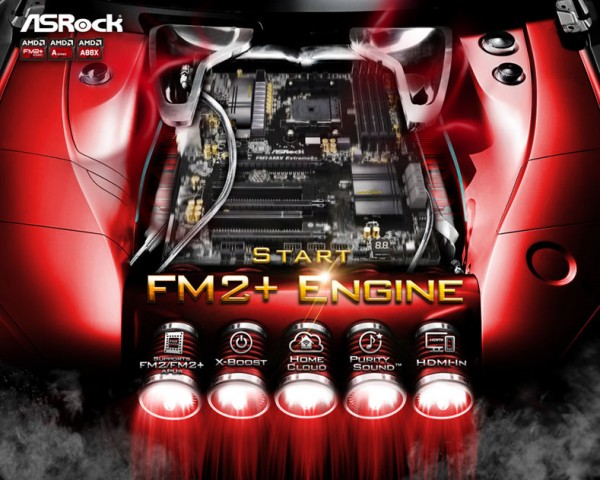 ASRock FM2+ Series Motherboards Announced