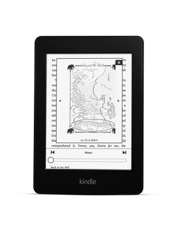 Amazon Kindle Paperwhite 6th Generation of Kindle e-Reader Debuts