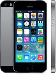 Black Apple iPhone 5s Smartphone