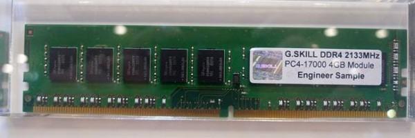 G.SKILL DDR4 2133MHz PC4-17000 Memory Module
