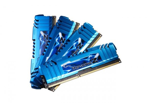 G.SKILL RipjawsZ Family Expands with 15 DDR3 Quad Channel Memory Kits