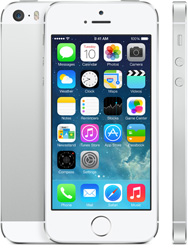 Silver Apple iPhone 5s Smartphone