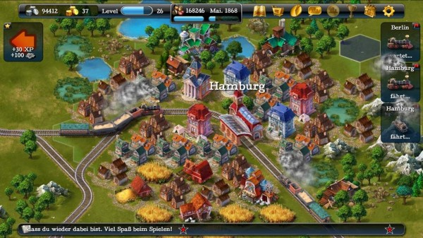 SteamPower1830 HTML5 Game Closed Beta to Launch on October 10
