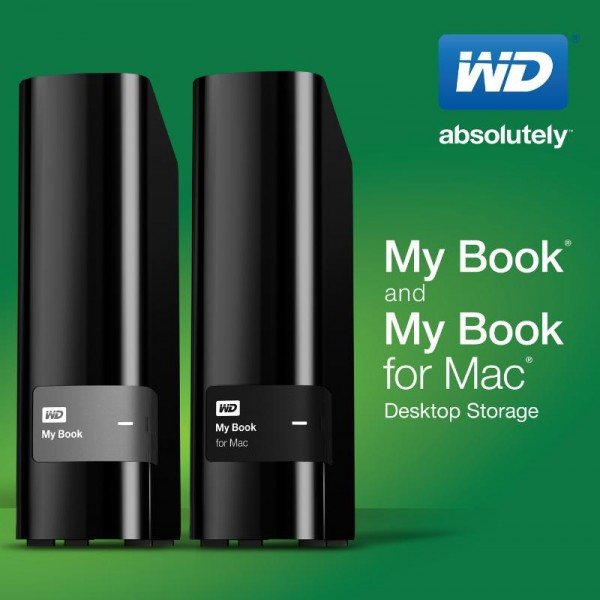 WD My Book Family of External Drives Updated