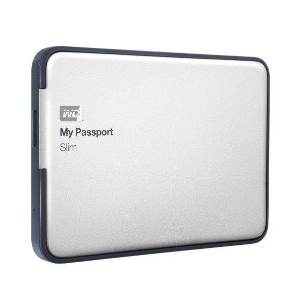 WD My Passport Slim 2TB Thin Drive With Metal Case And Hardware Encryption Debuts