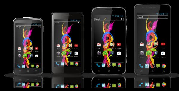 ARCHOS Titanium Smartphone Line Introduced