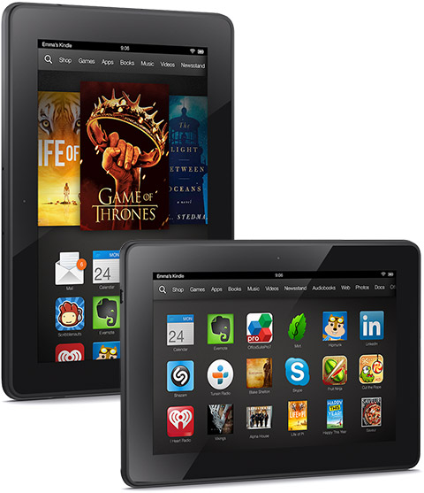 Amazon Kindle Fire HDX Tablet Shipped