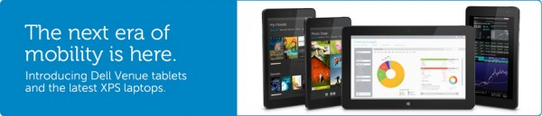 Dell Venue Tablets and Updated XPS Laptops Introduced