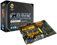 ECS L337 GANK DRONE Gaming Motherboard Released
