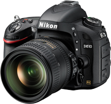 Nikon D610 Digital SLR Camera Introduced