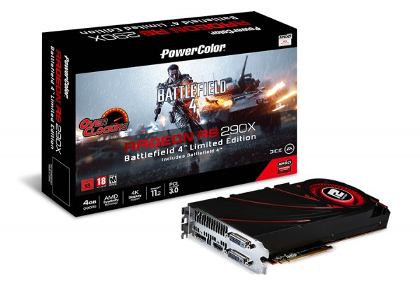 PowerColor R9 290X Video Card Introduced