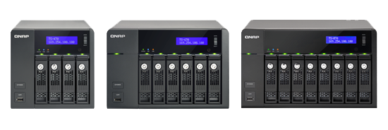 QNAP TS-x70 Tower Series Turbo NAS Launched