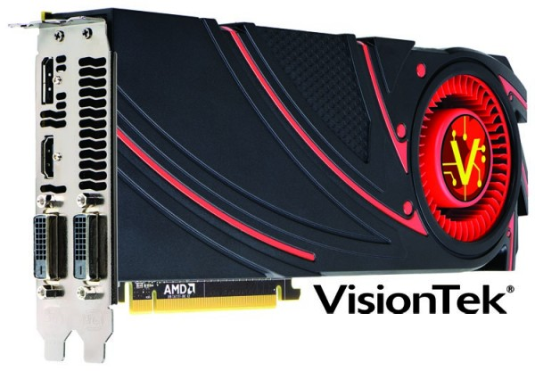 VisionTek Radeon R9 290X Introduced As Fastest Graphics Card Available