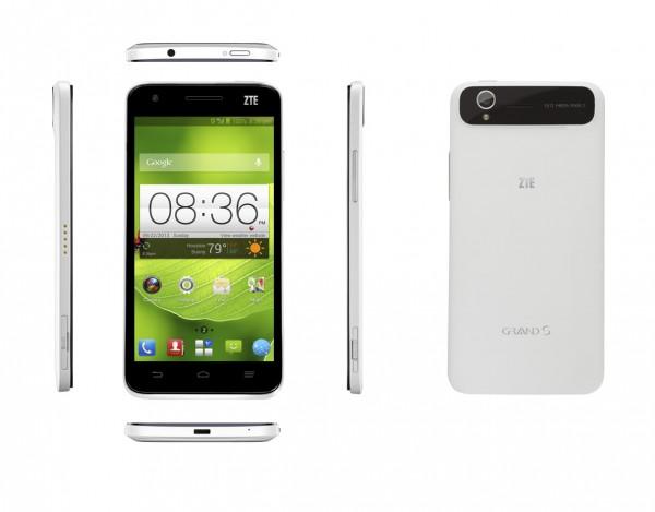 ZTE Grand S Smartphone Debuts