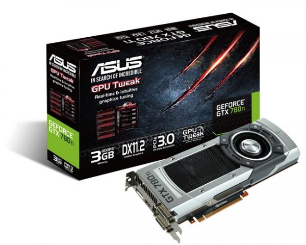 ASUS GTX 780 Ti Graphics Card Introduced