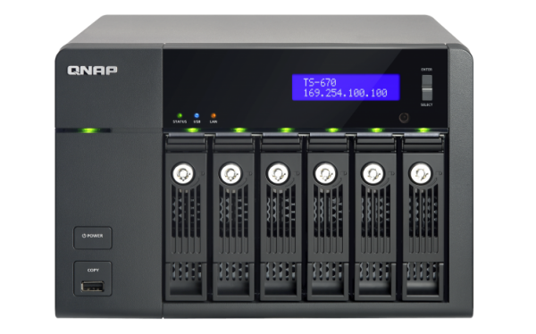 QNAP TS-x70 Pro Series Turbo NAS Launched