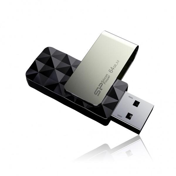 SP/Silicon Power Blaze B30 Diamond-Check USB 3.0 Swivel Flash Drives Introduced