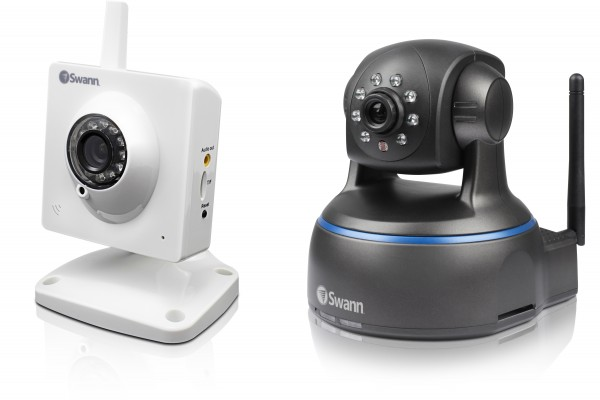 Swann SwannEye HD Plug & Play and Pan & Tilt Security Cameras Unveiled
