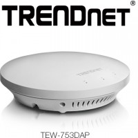 TRENDnet TEW-753DAP High Performance Wireless PoE Access Point Released