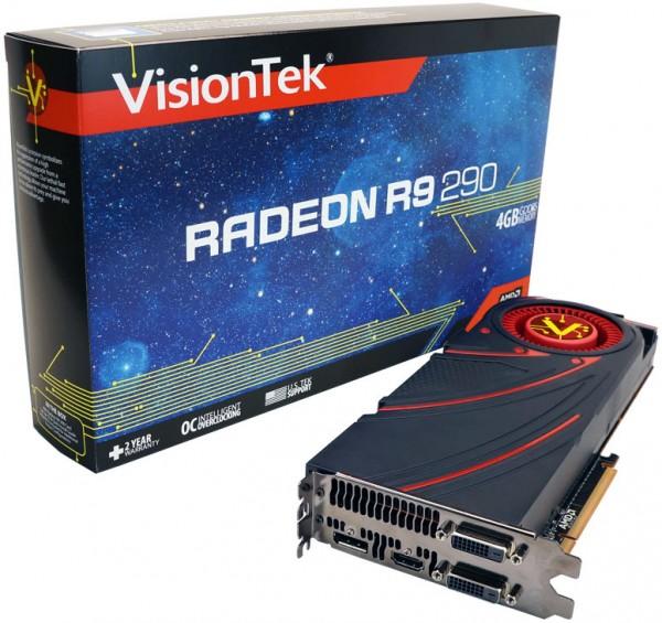 VisionTek Radeon R9 290 Introduced
