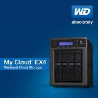 WD My Cloud EX4 Four-Bay NAS Unveiled