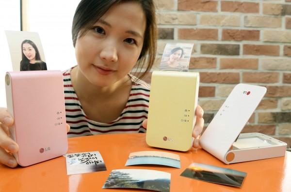 LG Pocket Photo 2.0 Smart Mobile Printer to Debut at CES 2014