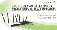 Amped Wireless AC1900 WI-FI Router and Extender Launched