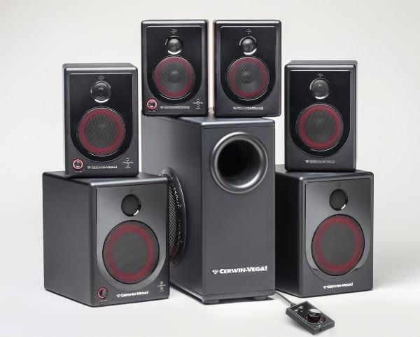 Cerwin-Vega! XD Desktop Speaker Series Unveiled