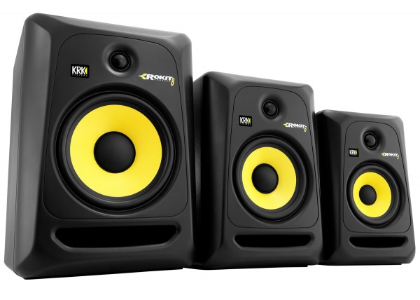 KRK Systems ROKIT Generation 3 Studio Monitor Series Unveiled