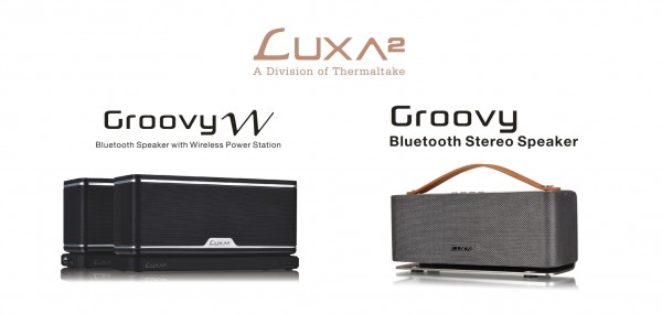 LUXA2 Groovy Audio Speaker Series and Other New Product Lines Debut