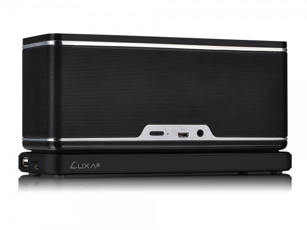 LUXA2 GroovyW Bluetooth Speaker with Wireless Charging Station Debuts