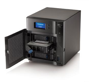 LenovoEMC px4-400d Four-Bay Desktop NAS Announced
