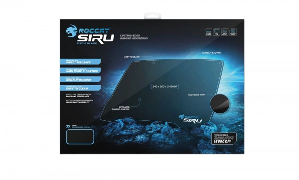 ROCCAT Siru Ultra-thin Gaming Mousepad Released