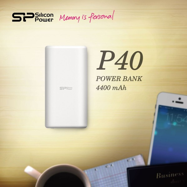 SP Power P40 Power Bank Released