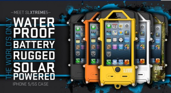Snow Lizard SLXtreme Solar Powered, Waterproof and Battery-Boosting iPhone Case Launched